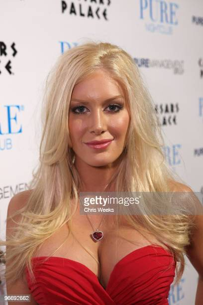 Reality television personality Heidi Montag attends Pure Nightclub on February 13, 2010 in Las Vegas, Nevada.