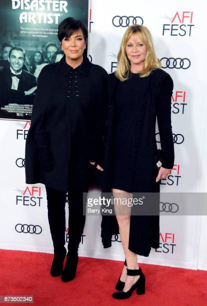 Reality Television personality Kris Jenner and actress Melanie Griffith attend AFI FEST 2017 Presented By Audi Screening Of 'The Disaster Artist' at...