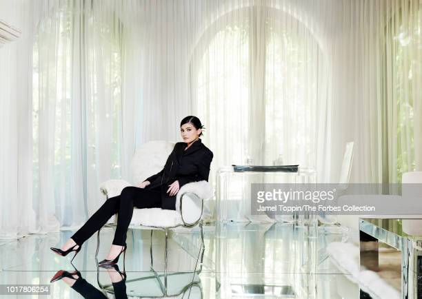Reality television personality Kylie Jenner is photographed for Forbes Magazine on June 24 2018 in New York City PUBLISHED IMAGE CREDIT MUST READ...