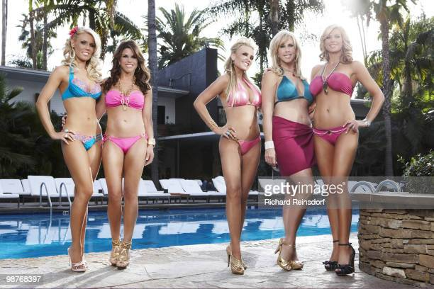 Reality TV Housewives from The Real Housewives of Orange County Gretchen Rossi Tamra Barney Lynne Curtin Vicki Gunvalson Alexis Bellino are...