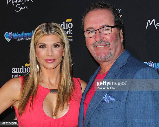 Reality TV Personalities Alexis Bellino and Jim Bellino attend the 3rd annual Reality TV Awards at Avalon on May 13 2015 in Hollywood California