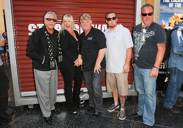 Reality Tv Personalities Barry Weiss Laura Dotson Dan Brandon Sheets And Darrell