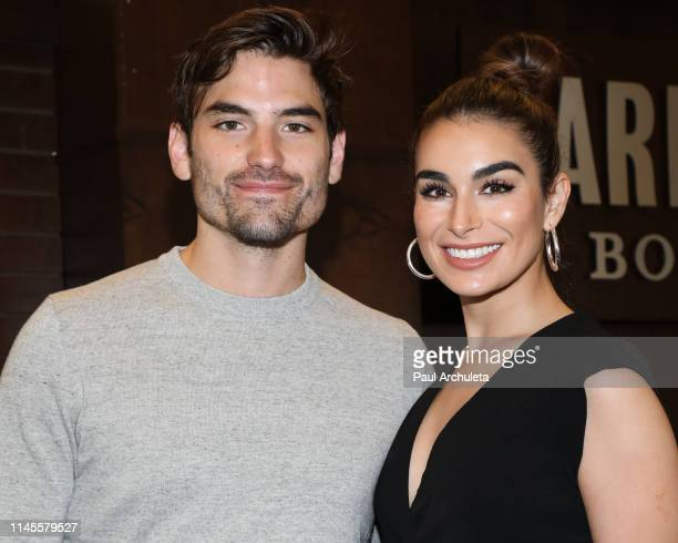 Reality TV Personalities Jared Haibon and Ashley Iaconetti celebrate their new book Lucy Clark at Barnes Noble at The Grove on April 27 2019 in Los...