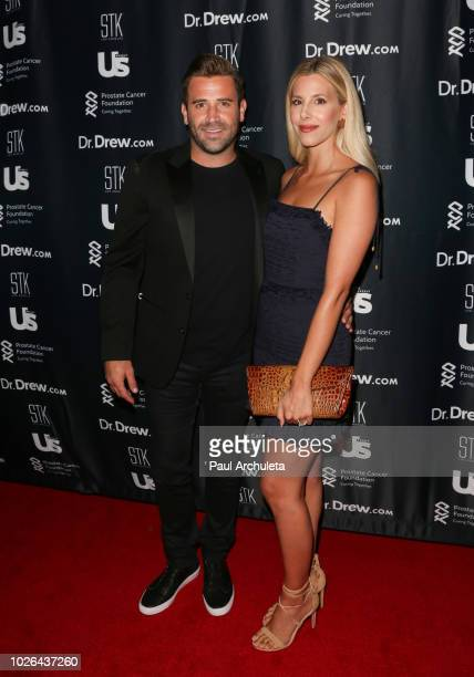 Reality TV Personalities Jason Wahler and Ashley Wahler attend the Dr Drew 60th birthday podcast ROAST by celebrity friends benefiting The Prostate...