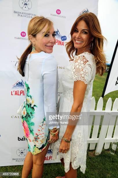 Reality TV personalities Marysol Patton and Kelly Killoren Bensimon attend the 2014 Bridgehampton Polo Hampton Classics at Two Trees Farm on August...