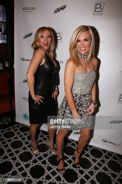 """Reality TV personalities Ramona Singer and Tinsley Mortimer attend the """"Real Housewives Of New York City"""" premiere screening at Pomona on March 6,..."""