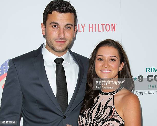 Reality TV Personalities Tanner Tolbert and Jade Roper attend the 5th Annual American Humane Association Hero Dog Awards at The Beverly Hilton Hotel...