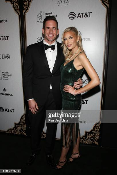 Reality TV Personalities Tarek El Moussa and Heather Rae Young attend the Give Easy event hosted by Ronald McDonald House Los Angeles at Avalon...