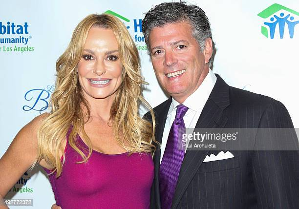 Reality TV Personalities Taylor Armstrong and John H Bluher attend the Habitat For Humanity of Los Angeles Builders Ball at the Beverly Wilshire Four...