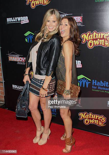 Reality TV Personalities Tracy Hutson and Jillian Harris arrive at ABC's Extreme Makeover Home Edition benefiting Habitat For Humanity Los Angeles on...