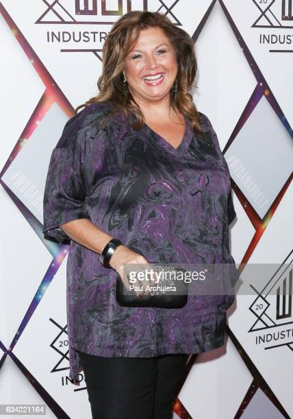 Reality TV Personality Abby Lee Miller attends the World Of Dance Industry Awards at Avalon Hollywood on February 7 2017 in Los Angeles California