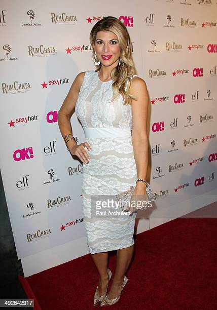Reality TV Personality Alexis Bellino attends OK Magazine's 'So Sexy' LA event at Lure on May 21 2014 in Hollywood California