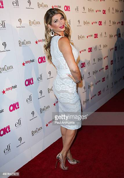 Reality TV Personality Alexis Bellino attends OK Magazine's So Sexy LA event at Lure on May 21 2014 in Hollywood California
