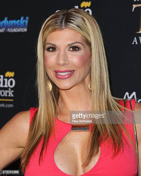 Reality TV Personality Alexis Bellino attends the 3rd annual Reality TV Awards at Avalon on May 13 2015 in Hollywood California