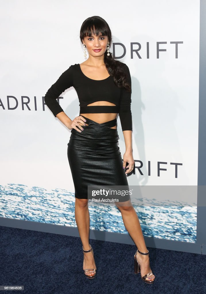 Reality TV Personality Alexis Joy attends the premiere of STX Films' 'Adrift' at Regal LA Live Stadium 14 on May 23, 2018 in Los Angeles, California.