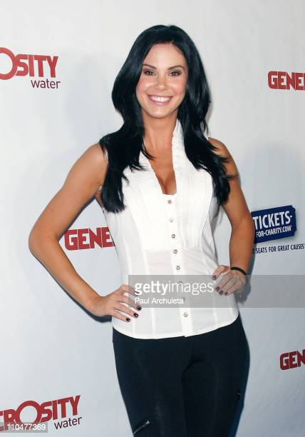 Reality TV Personality and model Jayde Nicole arrives at the Generosity Water's 3rd annual Night Of Generosity benefit on March 18 2011 in Beverly...