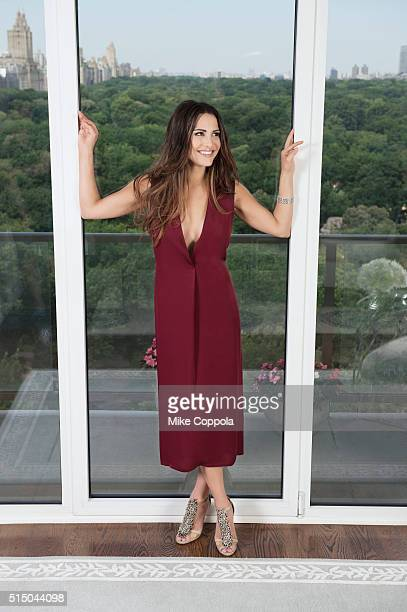 Reality TV personality Andi Dorfman is photographed for Resident Magazine on July 21 2015 in New York City