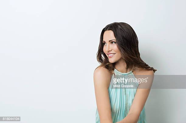 Reality TV personality Andi Dorfman is photographed for Resident Magazine on July 21 2015 in New York City PUBLISHED IMAGE