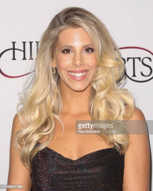 Reality TV Personality Ashley Wahler attends the Hilary Roberts birthday celebration and the Red Songbird Foundation launch party at The Beverly...