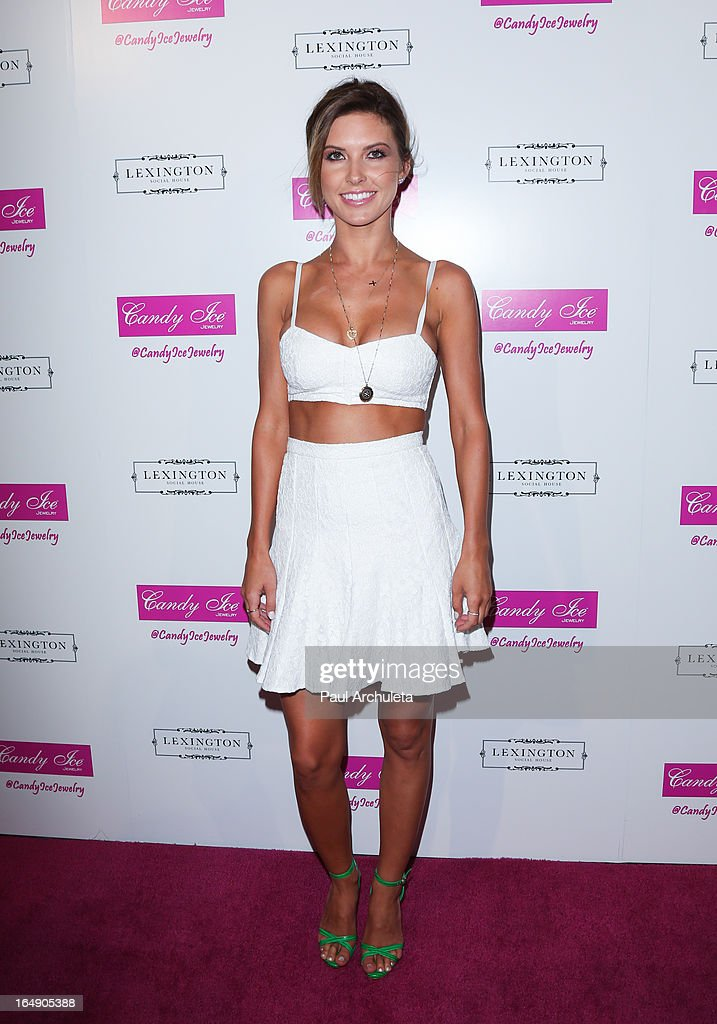 Reality TV Personality Audrina Patridge attends the Fire & Ice Gala Benefiting Fresh2o at the Lexington Social House on March 28, 2013 in Hollywood, California.