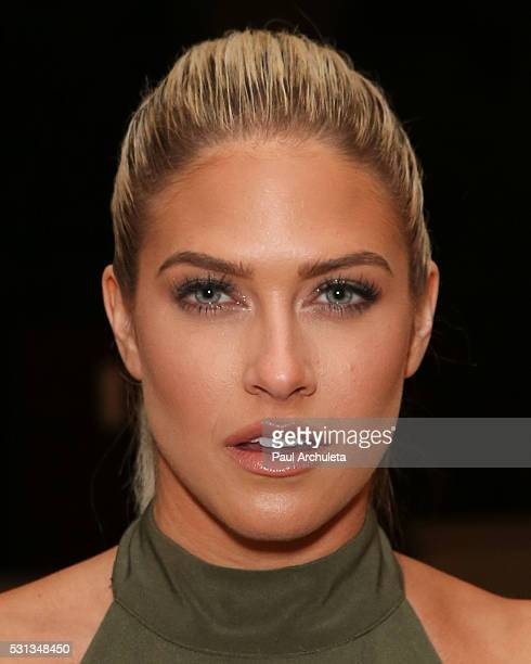Reality TV Personality Barbie Blank attends Shaun Phillips surprise birthday party on May 13 2016 in West Hollywood California