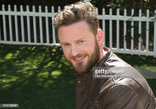 "Reality TV personality Bobby Berk visits Hallmark Channel's ""Home & Family"" at Universal Studios Hollywood on March 31, 2021 in Universal City,..."