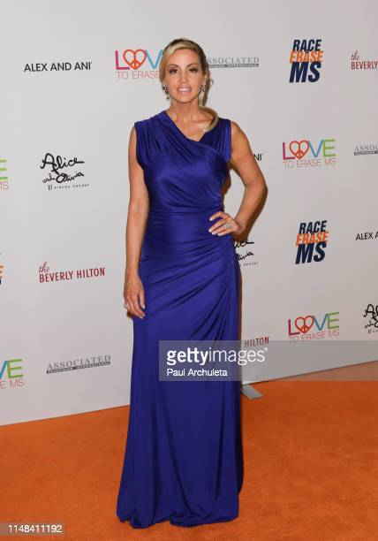 Reality TV Personality Camille Grammer attends the 26th annual Race To Erase MS Gala at The Beverly Hilton Hotel on May 10 2019 in Beverly Hills...