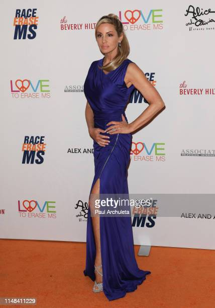 Reality TV Personality Camille Grammer attends the 26th annual Race To Erase MS Gala at The Beverly Hilton Hotel on May 10, 2019 in Beverly Hills,...