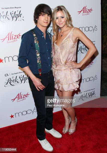 Reality TV Personality Chad Rogers and Amanda Sobocinski arrive at the Los Angeles Times Magazine's music and fashion event 'Rock Style' at Hollywood...
