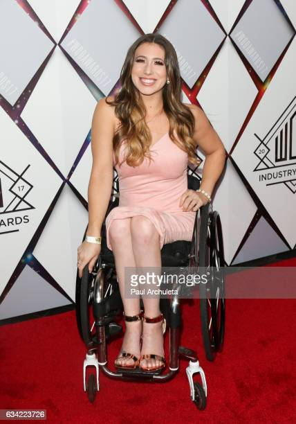 Reality TV Personality Chelsie Hill attends the World Of Dance Industry Awards at Avalon Hollywood on February 7 2017 in Los Angeles California