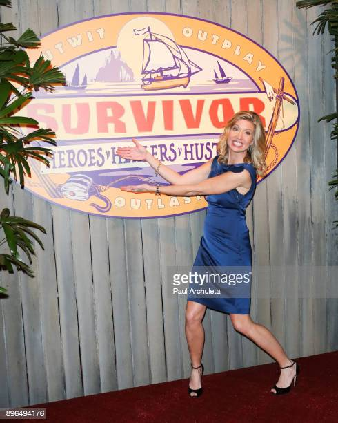 Reality TV Personality Chrissy Hofbeck attends the 'Survivor Heroes v Healers v Hustlers' season finale at CBS Televison City on December 20 2017 in...