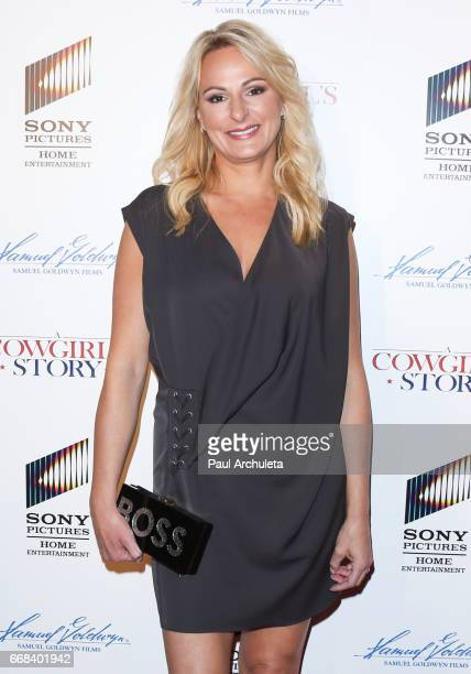 Reality TV Personality Christi Lukasiak attends the premiere of 'A Cowgirl's Story' at Pacific Theatres at The Grove on April 13 2017 in Los Angeles...