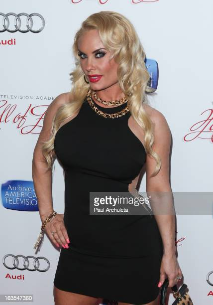 Reality TV Personality Coco Austin attends the Academy Of Television Arts Sciences 22nd annual Hall Of Fame induction gala at The Beverly Hilton...
