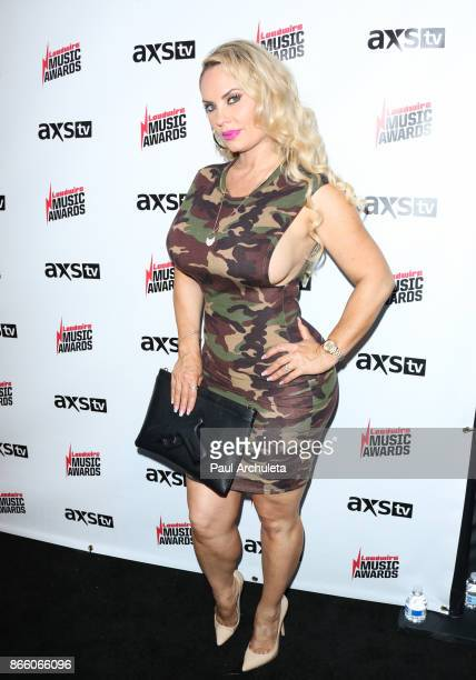 Reality TV Personality Coco Austin attends the Loudwire Music Awards at The Novo by Microsoft on October 24 2017 in Los Angeles California