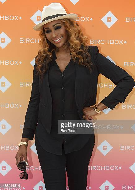 Reality TV personality Cynthia Bailey attends the Birchbox Road Trip on August 8 2015 in Atlanta Georgia