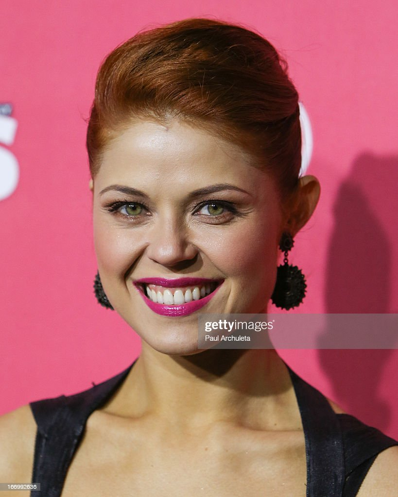 Reality TV Personality / Dancer Anna Trebunskaya attends Us Weekly's annual Hot Hollywood Style issue party at The Emerson Theatre on April 18, 2013 in Hollywood, California.