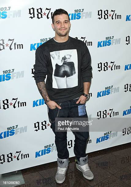 Reality TV Personality / Dancer Mark Ballas attends the 1027 KIIS FM and 987 5th annual celebrity artist lounge celebrating the 55th Annual GRAMMYS...