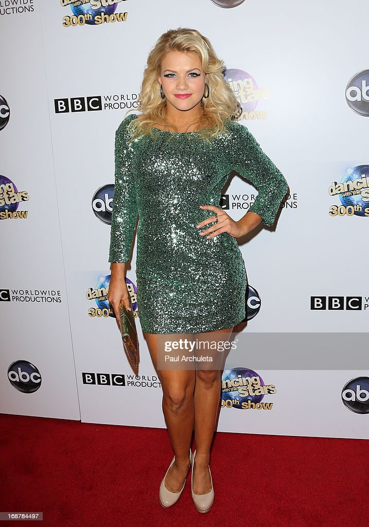 Reality TV Personality / Dancer Witney Carson attends the 'Dancing With The Stars' 300th episode after party on May 14, 2013 in Los Angeles, California.