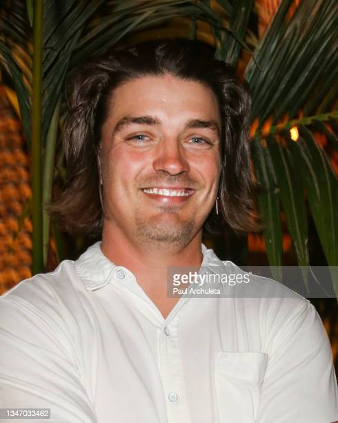 Reality TV Personality Dean Unglert attends the Belles Beach House opening at Belles Beach House on October 16, 2021 in Venice, California.