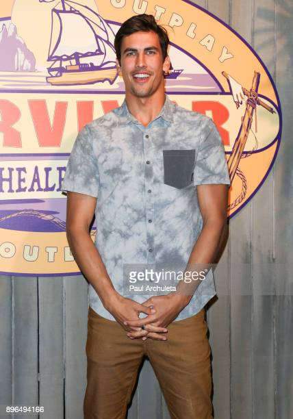 Reality TV Personality Devon Pinto attends the 'Survivor Heroes v Healers v Hustlers' season finale at CBS Televison City on December 20 2017 in Los...