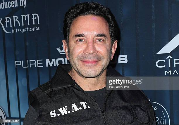 Reality TV Personality Dr Paul Nassif attends Maxim Magazine's annual Halloween party on October 22 2016 in Los Angeles California