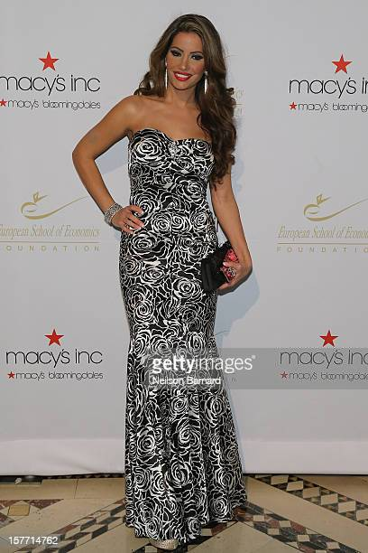 Reality TV personality Elizabeth Vashisht attends European School Of Economics Foundation Vision And Reality Awards on December 5 2012 in New York...