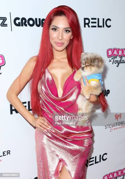 Reality TV Personality Farrah Abraham attends the 4th annual Babes In Toyland Pet Gala benefiting Operation Blankets Of Love at Avalon on March 21...
