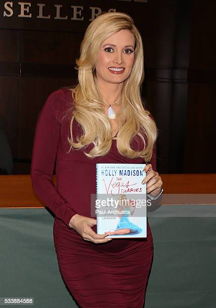 Reality TV Personality Holly Madison signs copies of her new book 'The Vegas Diaries Romance Rolling The Dice And The Road To Reinvention' at The...