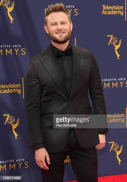 Reality TV Personality / Interior Designer Bobby Berk attends the 2018 Creative Arts Emmy Awards - Day 2 at the Microsoft Theater on September 9,...