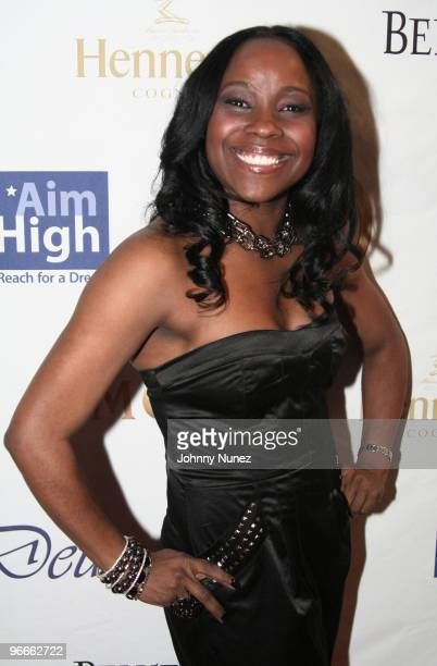 Reality TV personality Ivory Tabb attends the Kenny Smith 8th Annual AllStar Bash on February 12 2010 in Dallas Texas