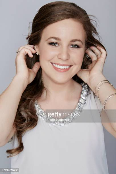 Reality TV personality Jana Duggar is photographed for People Magazine on March 16 2015 in Springdale Arkansas