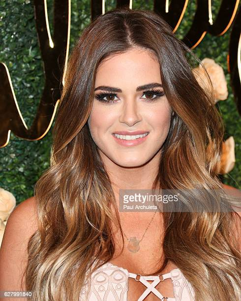 Reality TV Personality JoJo Fletcher attends Becca Tilley's Blog and YouTube launch party at The Bachelor Mansion on December 5 2016 in Los Angeles...