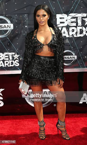 Reality TV personality Joseline Hernandez attends the 2015 BET Awards at the Microsoft Theater on June 28 2015 in Los Angeles California