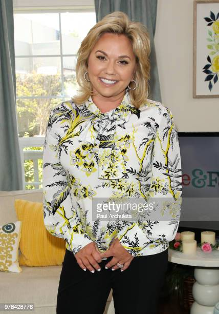 Reality TV Personality Julie Chrisley visit Hallmark's Home Family at Universal Studios Hollywood on June 18 2018 in Universal City California